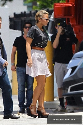 JULY 24TH - Arrives At The X Factor Boot Camp In Miami, FL