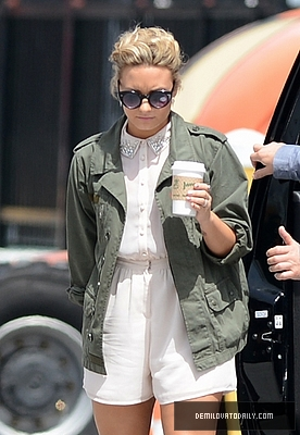 JULY 25TH - Arrives At The Fillmore Miami Beach In Miami, FL - demi-lovato Photo