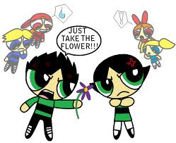 JUST TAKE THE STINKEN FLOWER!!!!!!