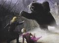 Jaime & Brienne- The Bear Pit - jaime-and-brienne fan art