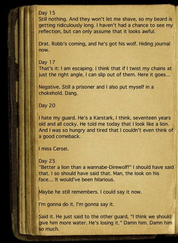 Jaime's Journal