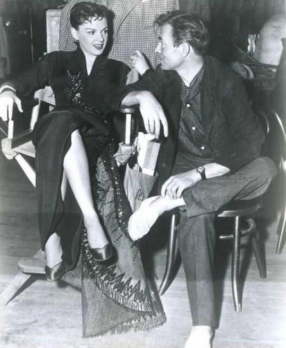 James Mason & Judy Garland