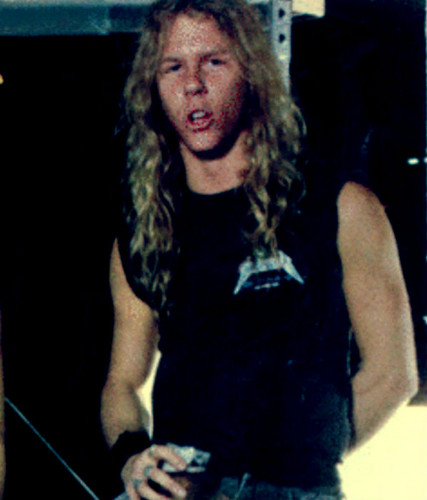 James Hetfield wallpaper possibly containing a street titled James