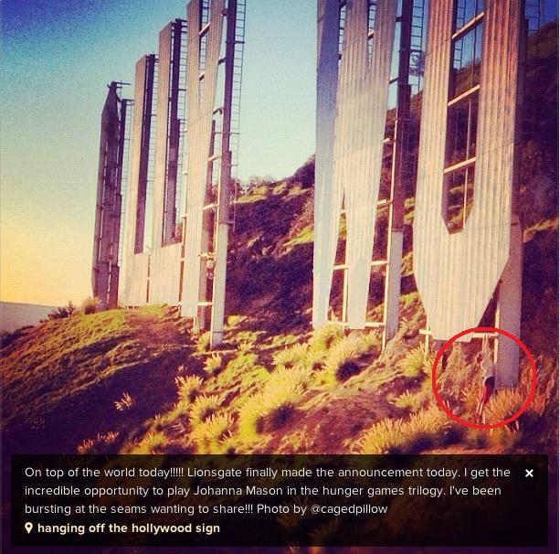 Jena Malone on playing Johanna [Instagram photo]
