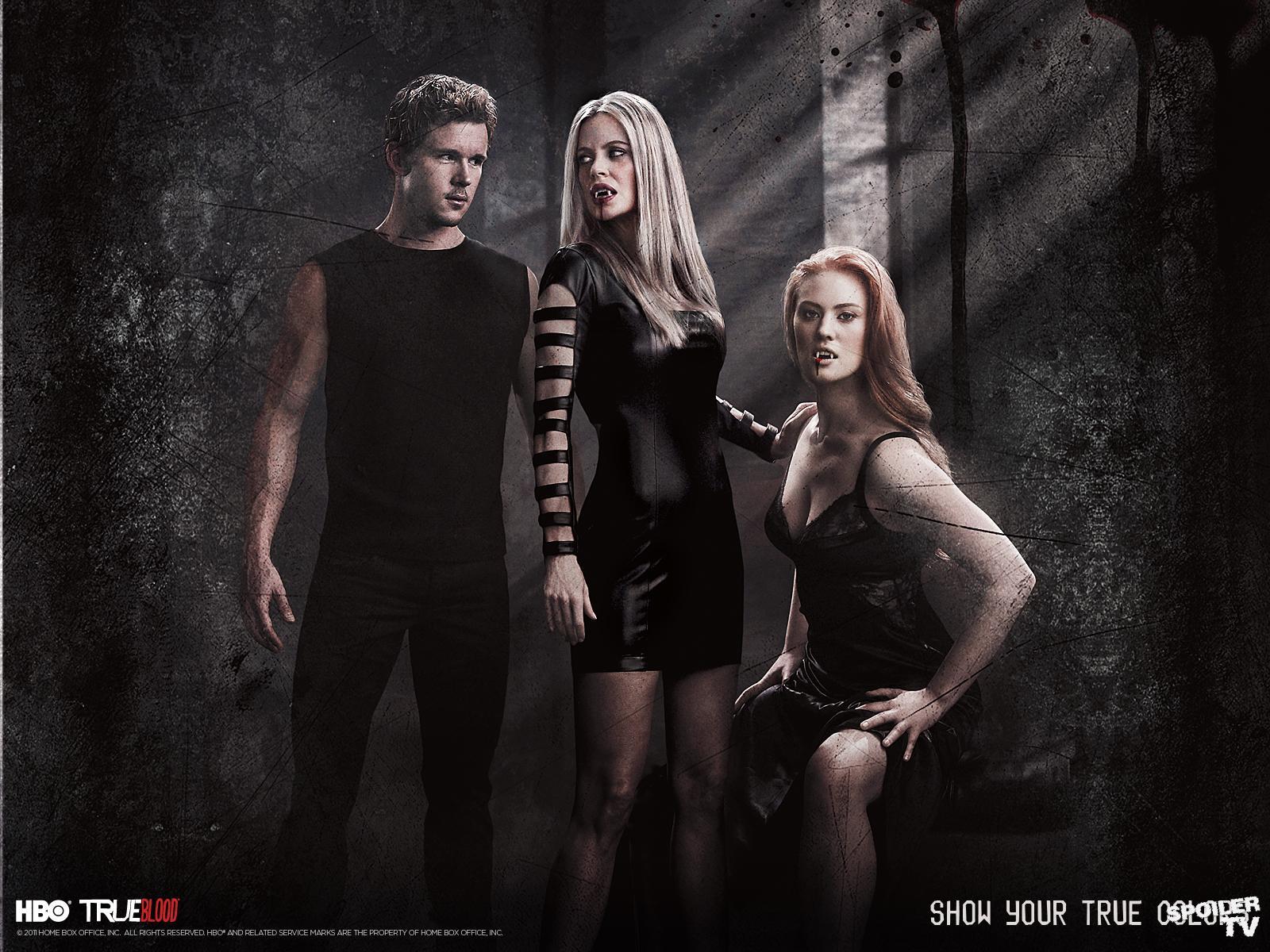 Jessica, Jason, and Pam - True Blood Wallpaper (31532370 ...