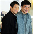 Jet Li &amp; Jackie Chan - 2cre8 photo
