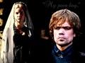 Joanna & Tyrion Lannister |