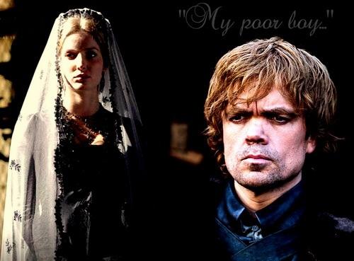 "Joanna & Tyrion Lannister | ""My poor boy..."""