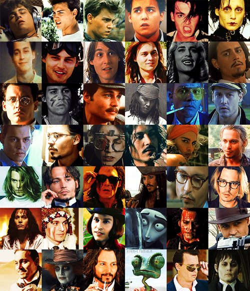 Johnny Depps Movie Characters Bilder Johnnys Characters3