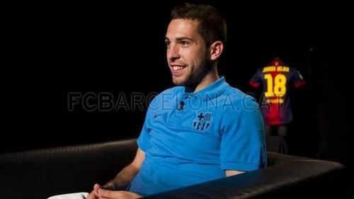 Jordi Alba's Interview