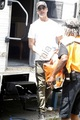Josh Holloway pictured on set of Paranoia in South Philadelphia, Pa on July 24, 2012 - josh-holloway photo