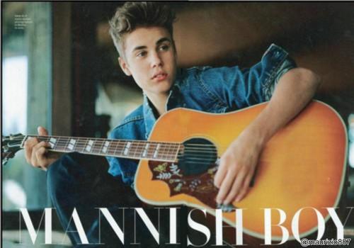 Justin Bieber RollingStone photoshoot Magazine, 2012