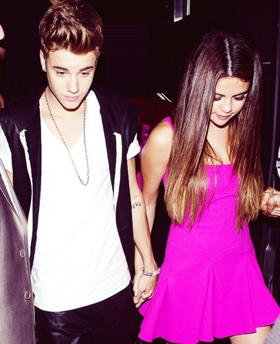 Justin Bieber and Selena Gomez out to dîner
