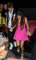 Justin Bieber and Selena Gomez out to ужин