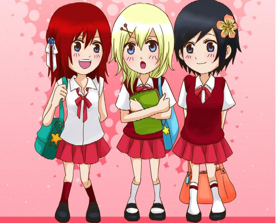 Kairi, Namine and Xion