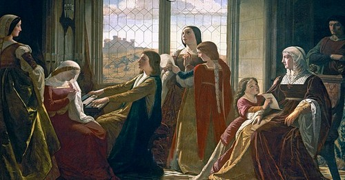 Katherine, her mother and sisters