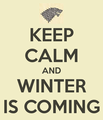 Keep Calm ... - house-stark fan art