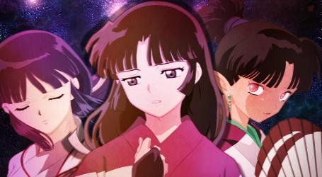 Kikyo,Sango, and Kagura