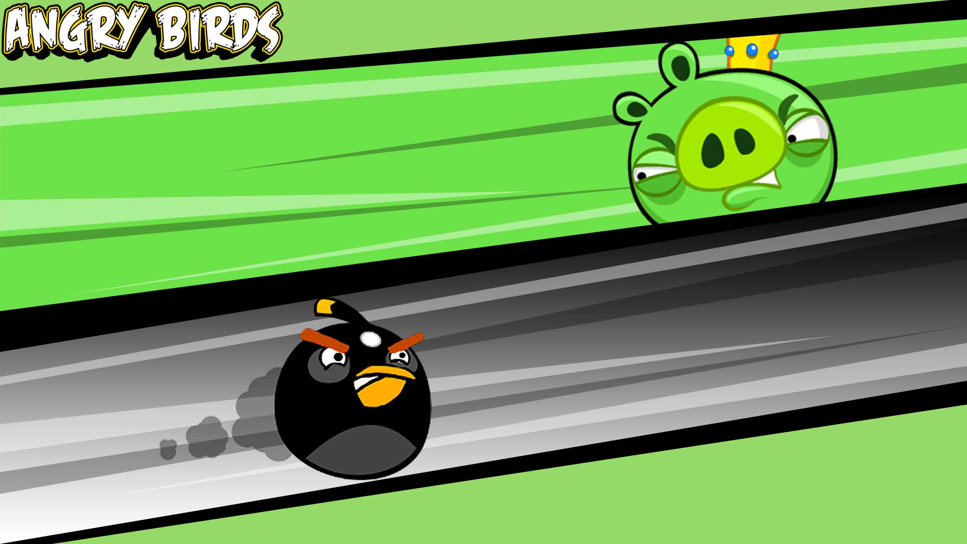 King Pig VS Black Bird