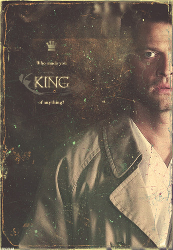 Castiel wallpaper entitled King