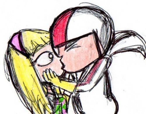kiss kiss kiss! XD