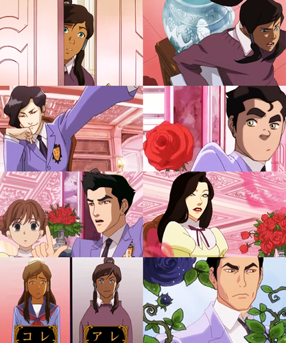 Korra High School Host Club