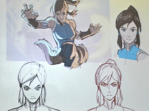 Avatar: The Legend of Korra wallpaper containing anime titled Korra Official Artwork