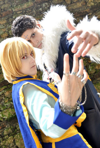 Kurapika Kuroro cosplay Hunter x Hunter