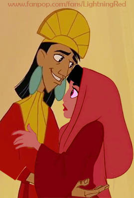Kuzco and jasmin