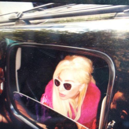 Lady GaGa leaves NYC