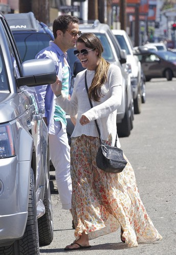 Lea In West Hollywood - July 17, 2012