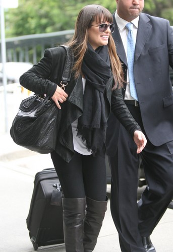 Lea at YVR Airport - May 30, 2012