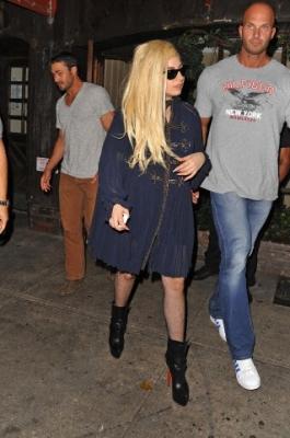 Leaving Joanne Restaurant in New York City (July 22nd)