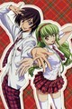 Lelouch and cc - lelouch-and-cc photo