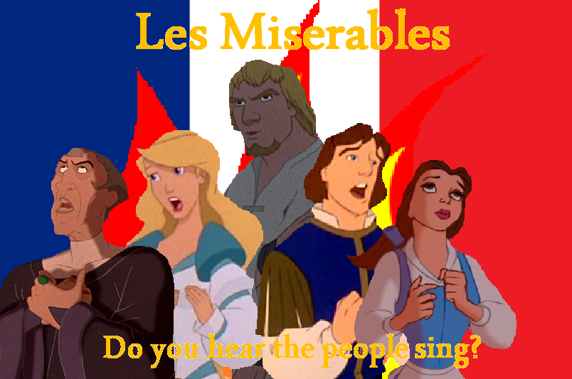 les miserables disney crossover photo 31544467 fanpop. Black Bedroom Furniture Sets. Home Design Ideas