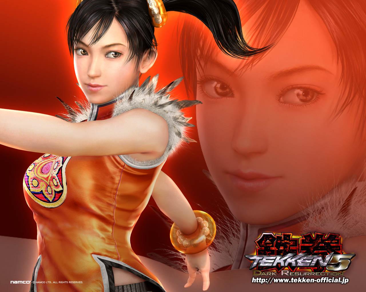 ling xiaoyu Tekken