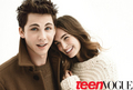 Logan Lerman/Lauren Love TeenVogue