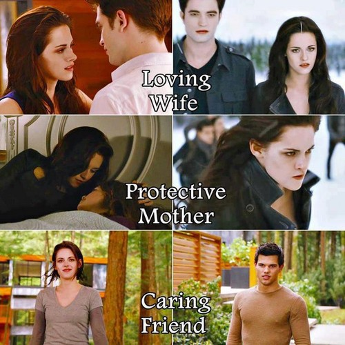 Loving wife, protective mother, caring friend - twilight-series Fan Art