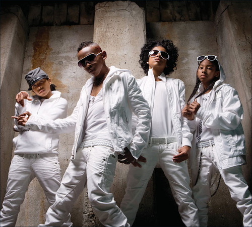 Mindless Behavior wallpaper probably containing sunglasses and a business suit called MB in all WHITE!