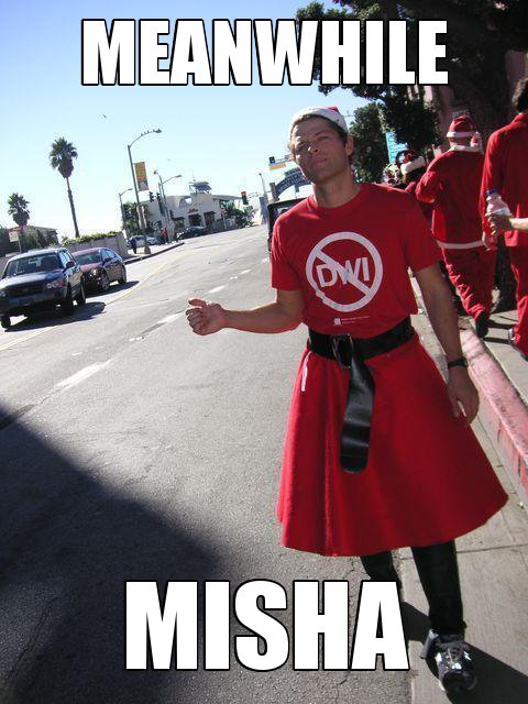 misha collins meme car - photo #12