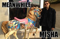 MEANWHILE - misha-collins fan art