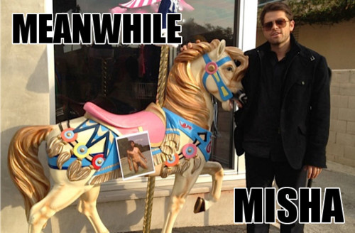misha collins meme car - photo #29