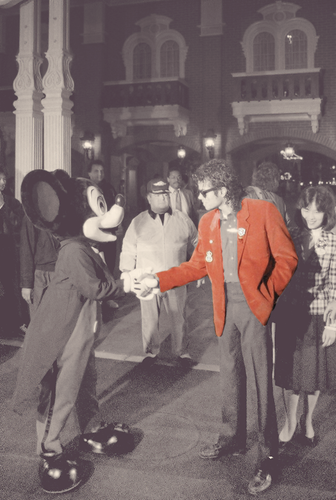 MJ and Mickey
