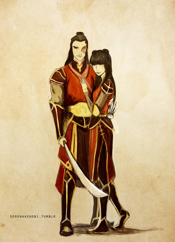 Mai and Zuko Mai and ZukoZuko Fan Art