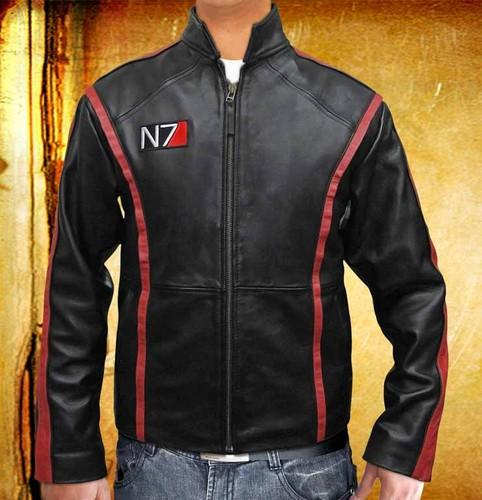 Mass Effect 3 N7 Leather куртка