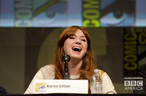 Karen Gillan at Comic Con 2012