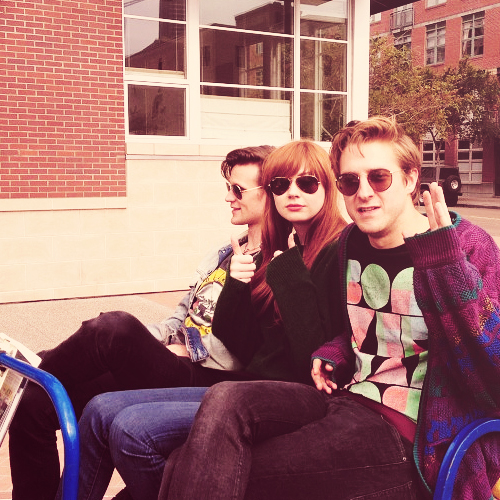 Matt, Karen & Arthur at Comic Con 2012