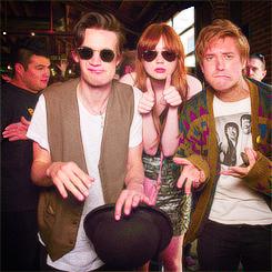 Matt, Karen & Arthur at Comic Con 2012