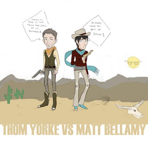 Matt Versus Thom Pictures x3.