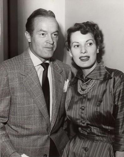 Maureen O'Hara & Bob Hope